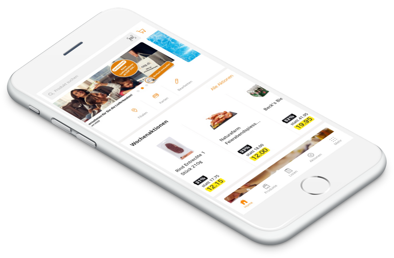 Coop Hybrid Mobile Application by One Inside
