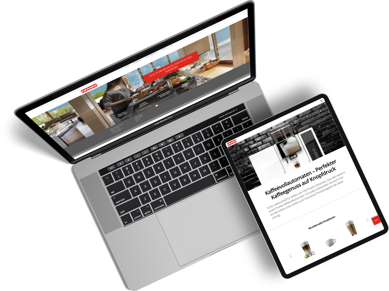 Franke Website Relaunch by One Inside