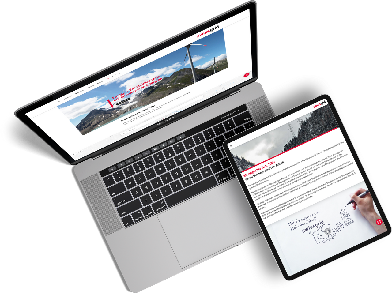 Swissgrid Website Relaunch by One Inside