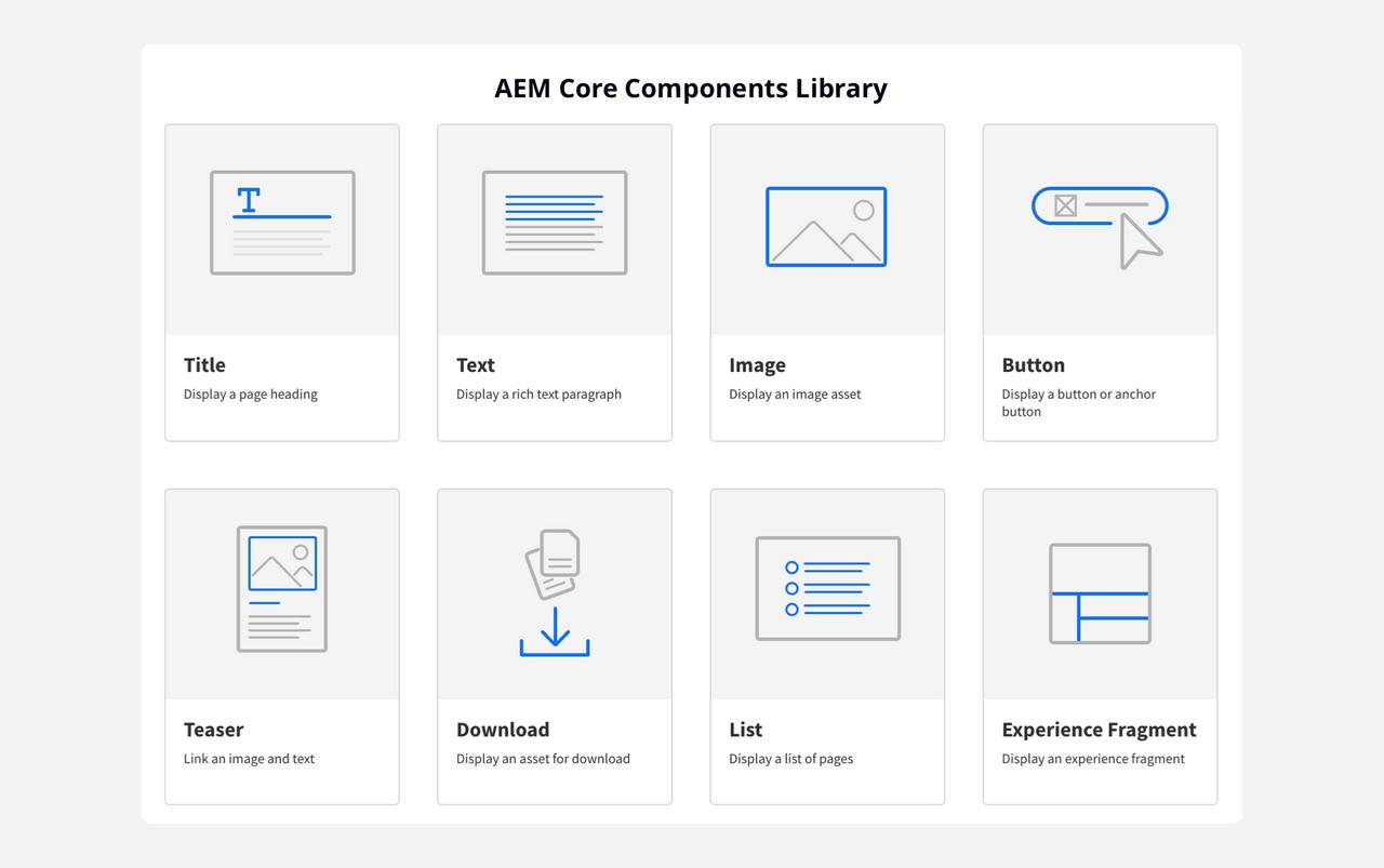 Adobe Core Components